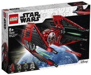 Lego star wars 75240 Major Vonreg's TIE Fighter 同系 75261 75243 75262 75236 75242