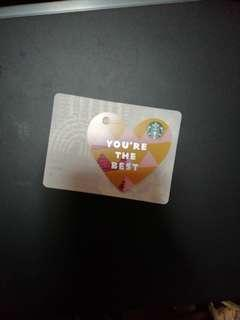 You are the best Starbucks Card