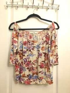 ❗️F21 Floral Shirt