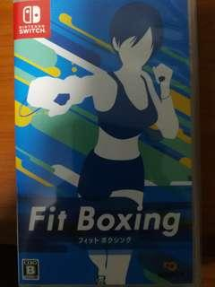 Switch game - fitness boxing (english available)