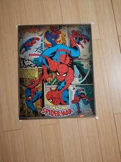 Spider-Man comic panel poster