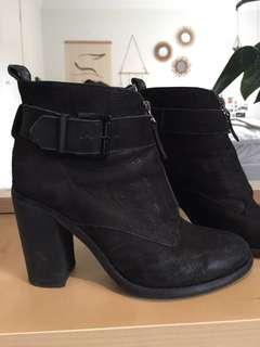 Tony Bianco boot heels