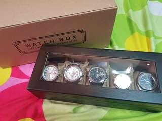 *LastBox* Denali Solid Wood Watch Box