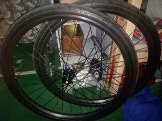 Wheelset 29er specialize tire..