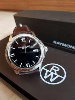 Raymond Weil Black Men's Dress Watch