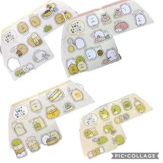 Sumiko gurashi stickers 40pcs