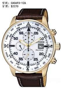 CITIZEN Watch 手錶 CA0693-12A
