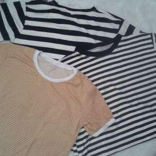 Free sf! Bundle of 3 tops for 350php