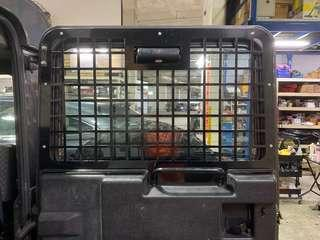 LandRover Defender Rear door window Guard