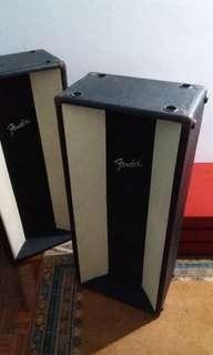 Fender Column 69s PA Speakers