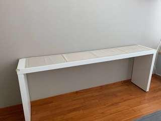 Ikea Beautiful White Console Table