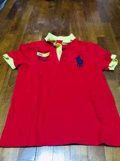 🚚 Boys shirt polo preloved