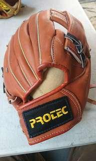 棒球手套(真皮)