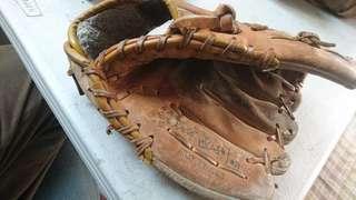 全皮棒球手套