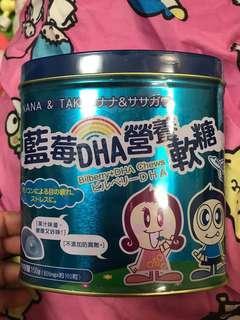NANA & TAKA 藍莓DHA營養軟糖