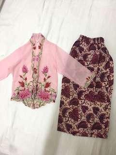 🚚 BRAND NEW Super cute nonya top and skirt racial harmony cny wedding