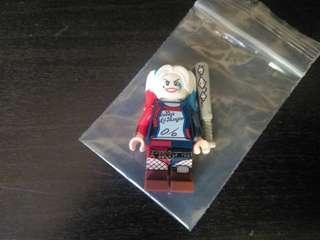 全新 lego 小丑女 harley quinn