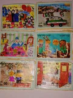 Kuwait (only) 90-00s stamps