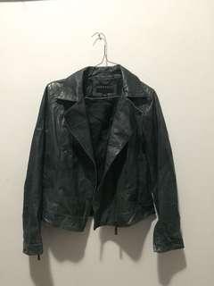 Grey-black-navy leary jacket