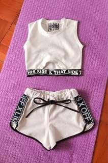 Short n vest