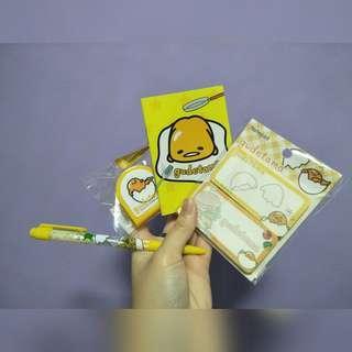 🚚 [ Sanrio ] Gudetama Stationary~❤