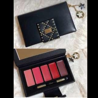 DIOR Holiday Couture Collection Daring Lip Palette 限量版 唇膏盤