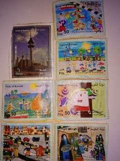 Kuwait stamps 90-00s