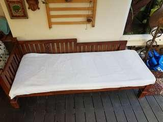 SALE!! TEAK DAYBED (good for outdoors also)