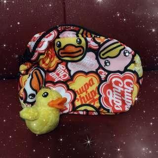 B Duck 禮品套裝((斜咩袋 + 吊飾))