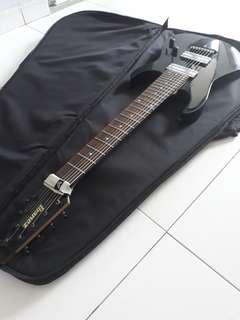 Ibanez 8 String Guitar with Upgraded Pickups