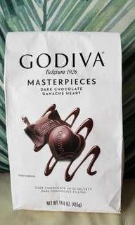 Godiva dark chocolate Ganache heart