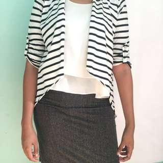 stripes outerwear