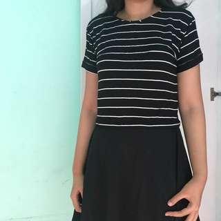 crop top stripes