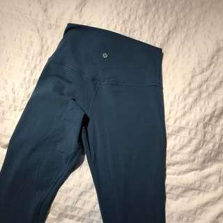 Lululemon blue align leggings size 6
