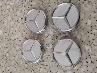 Mercedes Benz rims caps