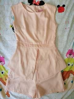 Beige Two pcs set