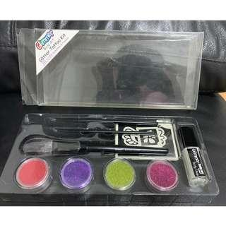 Glimmer Body Art Glitter Tattoo Kit for Kids (Set1) (Used)