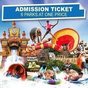 Sunway Lagoon Tickets 2019