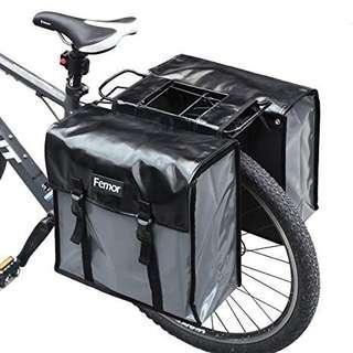 HEMA Double Bicycle Saddlebag (Pannier Bag) (Bike bag)