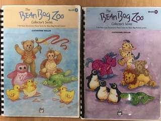 Piano Books (The Bean Bag Zoo Bk 1&2)