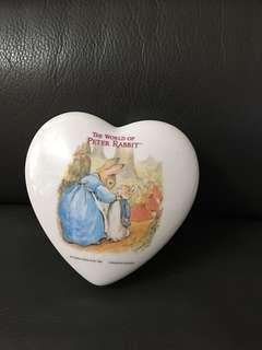 Peter Rabbit心型盒