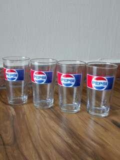 🚚 Vintage Pepsi Cola Glass