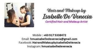 Certified Professional Hair and Makeup Artist