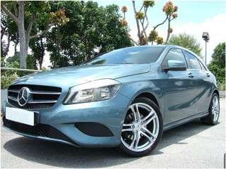 Mercedes Benz A200 Blue Efficiency