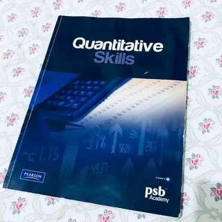 🚚 Quantitative Skills