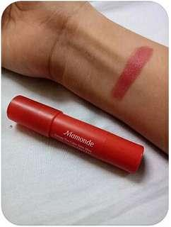 Mamonde creamy lip balm in burnt rose