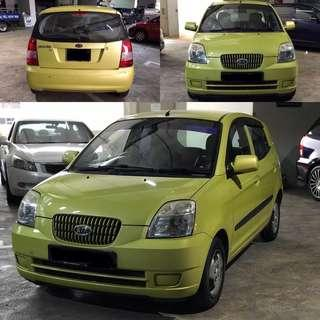 Kia Picanto for rent