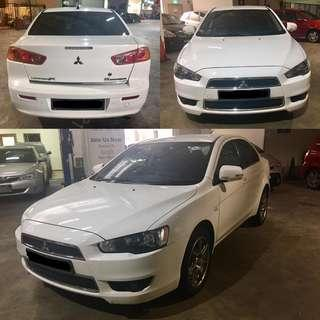 Mitsubishi lancer Ex for rent