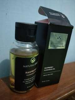 Raspberry cleansing oil natural green