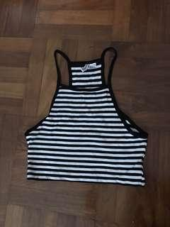 🚚 Striped Halter Top